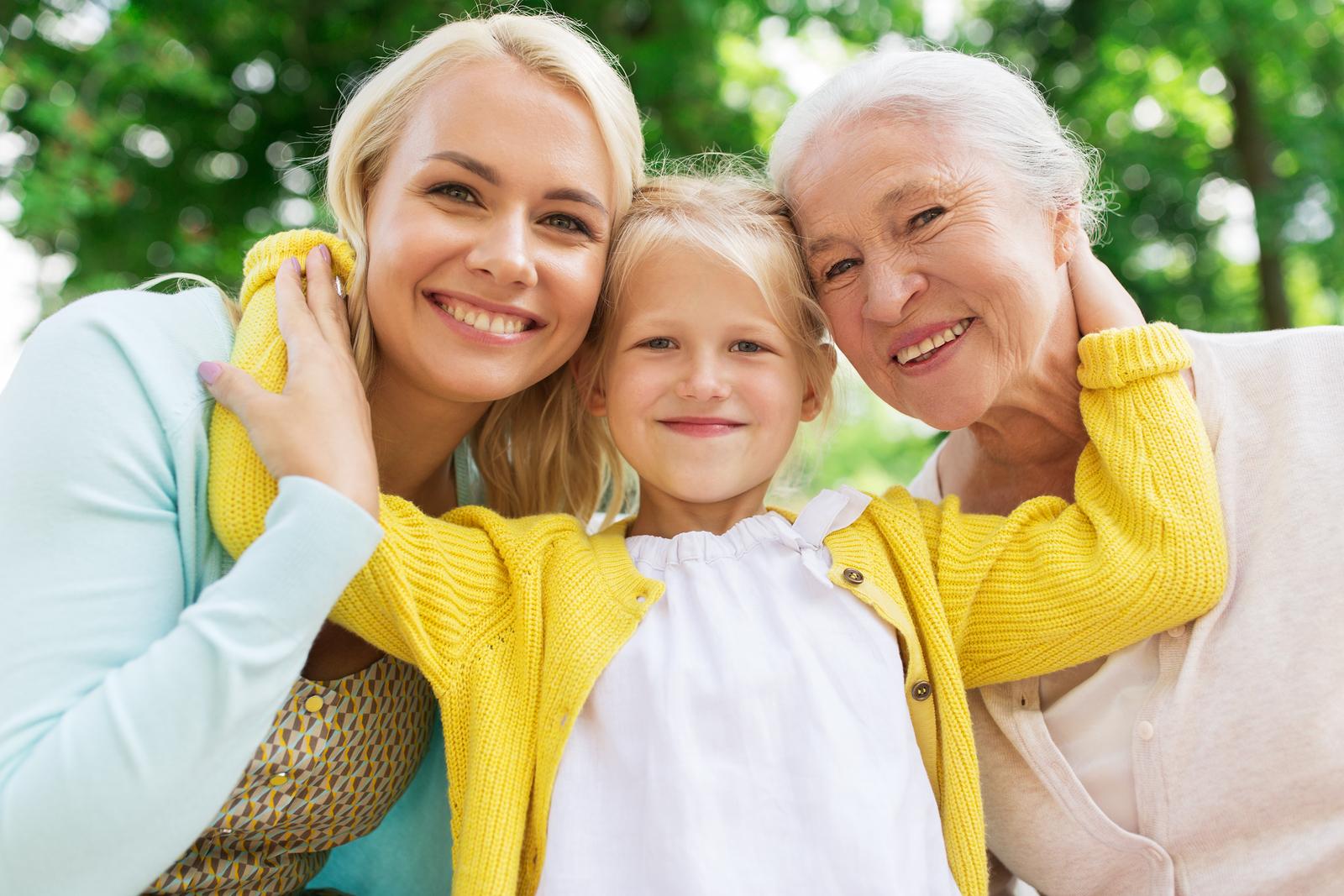Image of family, three generations